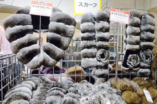 チンチラ毛皮