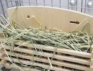 ウサギ 牧草入れ